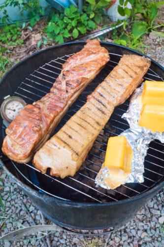 ベーコンとスモークチーズ
