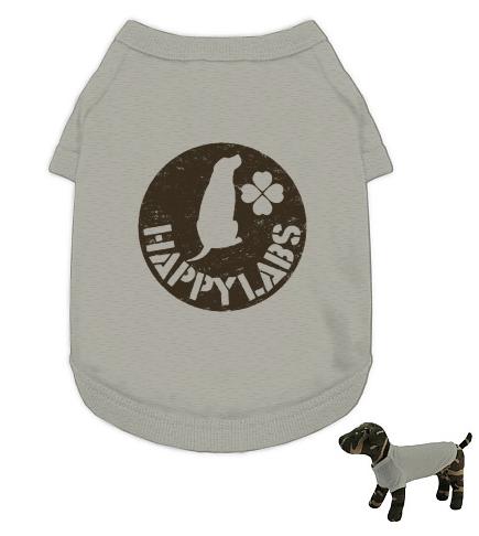 ステンシルロゴ犬服