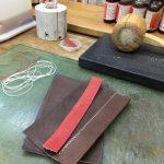 革の手縫い教室