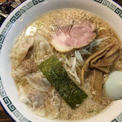 江川亭ワンタン麺