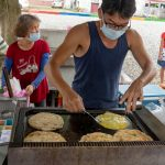 201808台湾環島旅行7 旧日本人移民村林田村と葱抓餅
